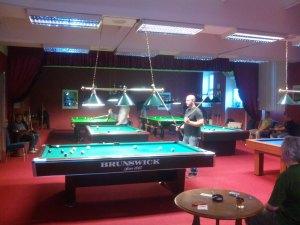 Sportovní klub Snooker & galerie KOULE Karlovy Vary